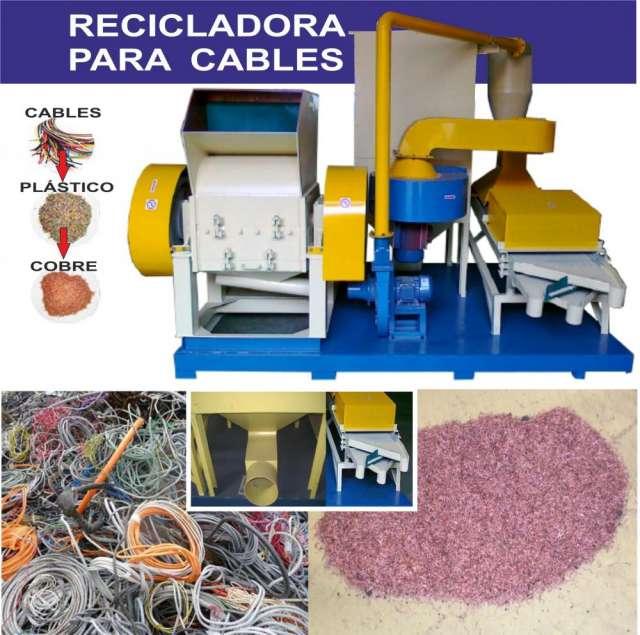 Recicladora de cables dariomasdario