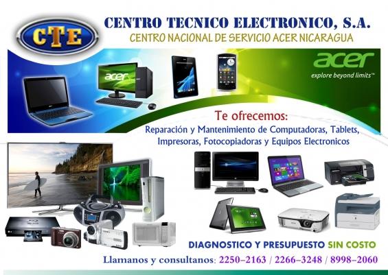 Rep y mant de computadora laptop, escritorio, televisores plasma, lcd,led