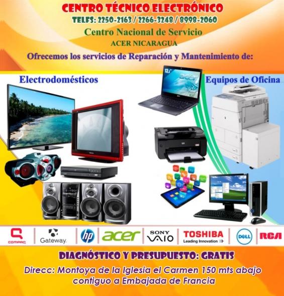 Reparacion y mantenimiento de televisores plasma, lcd, led, equipos de sonido