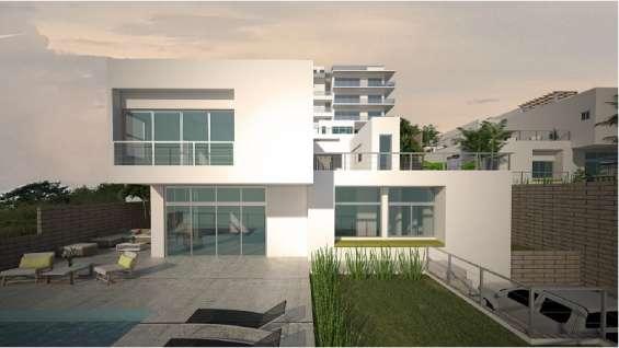 Casa de 2 niveles en venta lote no. 9 en el cielo, la talanguera, san juan del sur