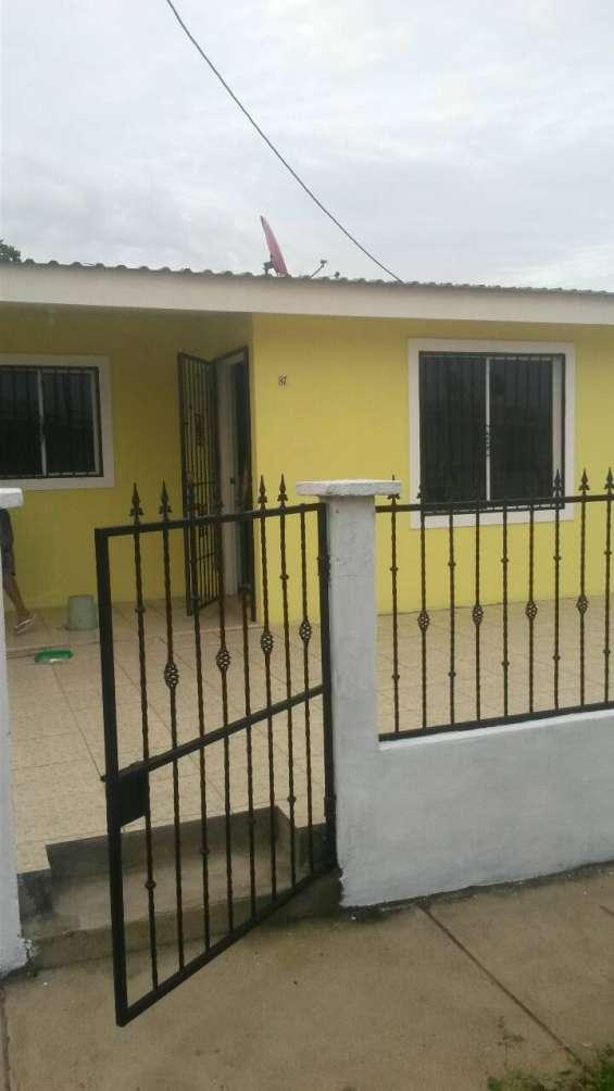 Alquilo casa nueva en carretera masaya