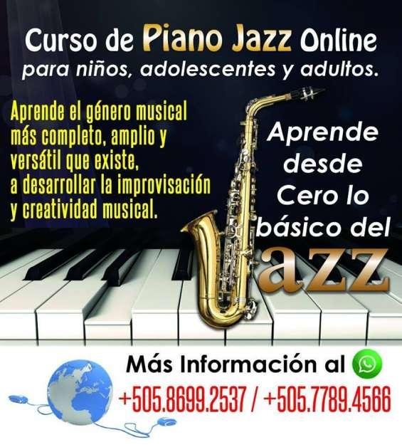 Curso online presencial y a domicilio de piano jazz
