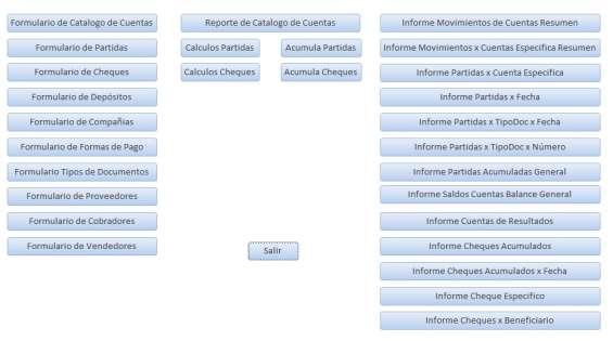 Ganga – desarrollo de sistemas personalizados en access