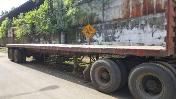 Rastra de 42 pies enllantada en venta en carretera vieja leon
